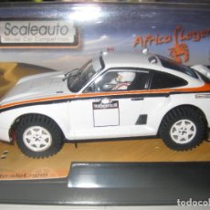 Slot Cars: OFERTA - PORSCHE 959 RAID AFRICA LEGENS BLANCO DE SCALEAUTO. Lote 141324038