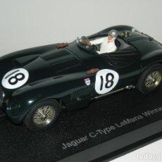 Slot Cars: JAGUAR CTYPE LE MANS WINNER 1953 AUTOART/SCALEXTRIC NUEVO. Lote 194359840