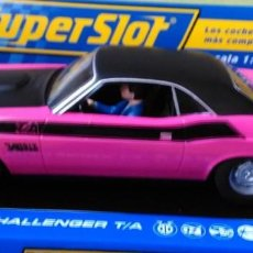 Slot Cars: DODGE CHALLENGER T/A 340 SIX PACK. Lote 101227011