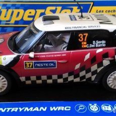 Slot Cars: MINI COUNTRYMAN WRC Nº 37 SORDO/DEL BARRIO. Lote 101227387