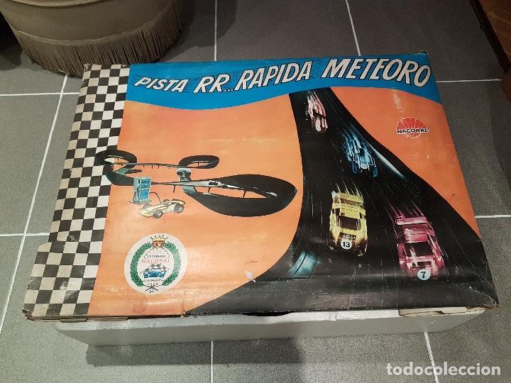 Slot Cars: pista rapida meteoro de nacoral ver fotos - Foto 2 - 101283503