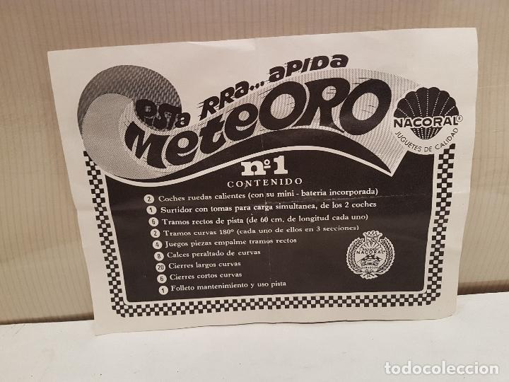 Slot Cars: pista rapida meteoro de nacoral ver fotos - Foto 13 - 101283503