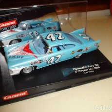 Slot Cars: CARRERA. PLYMOUTH FURY 1960. REF. 27254. Lote 102108207