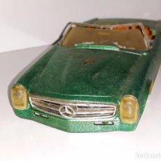Slot Cars: SCALEXTRIC FLEISCHMANN MADE IN GERMANY - ANTIGUA CARROCERIA - MERCEDES 250 SL CABRIO AÑOS 70. Lote 102846591