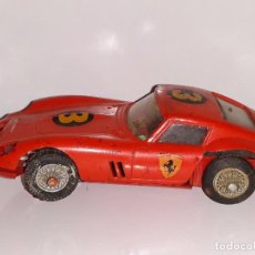 Slot Cars: SCALEXTRIC JOUEF : ANTIGUO COCHE FERRARI GTO 250 - MADE IN FRANCE AÑOS 60 / 70. Lote 102847923