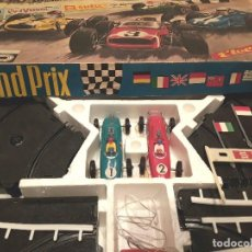 Slot Cars: ANTIGUO GRAND PRIX TIPO SCALEXTRIC, ELECTRIC GGF, ALEMANIA DEL ESTE, FUNCIONANDO.. Lote 103144487