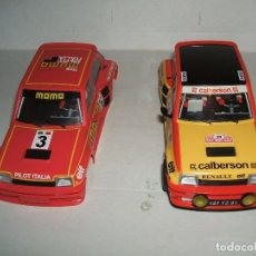 Slot Cars: RENAULT 5 TURBO DECORACION CALBERSON DE SPIRIT + CARROCERÍA MOMO. Lote 103646031