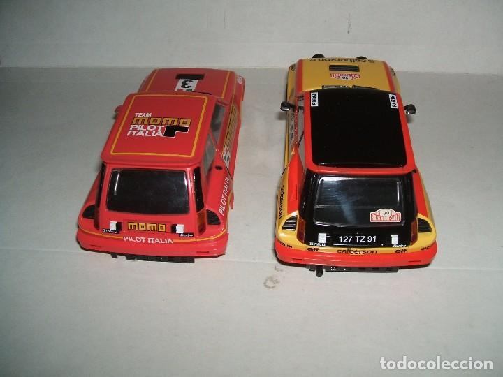 Slot Cars: RENAULT 5 TURBO DECORACION CALBERSON DE SPIRIT + CARROCERÍA MOMO - Foto 2 - 103646031
