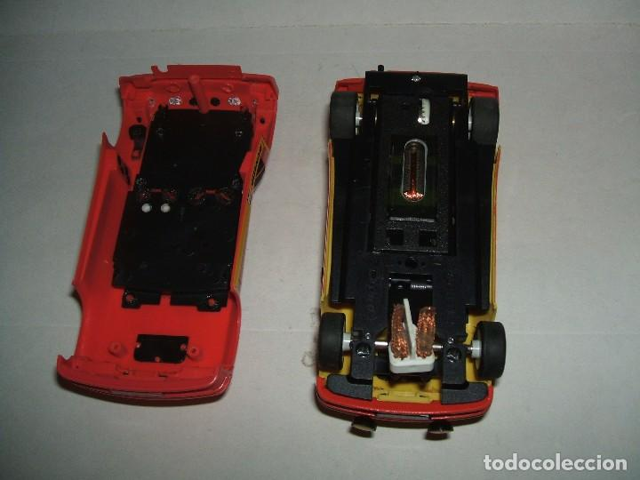 Slot Cars: RENAULT 5 TURBO DECORACION CALBERSON DE SPIRIT + CARROCERÍA MOMO - Foto 4 - 103646031