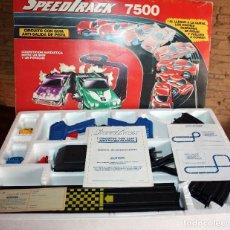 Slot Cars: CIRCUITO SPEEDTRACK DE MODEL IBER - NUEVO A ESTRENAR - COMPLETO - IMPECABLE. Lote 104500639