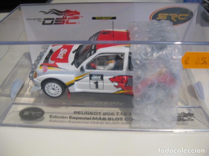 03702- PEUGEOT 205 T16 EDICION ESPECIAL MAS SLOT DE OSC - SRC (Juguetes - Slot Cars - Magic Cars y Otros)