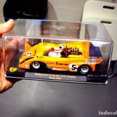 Slot Cars: MCLAREN M8D CAN AM 1970 CHAMP DENNY HULME. Lote 105747831