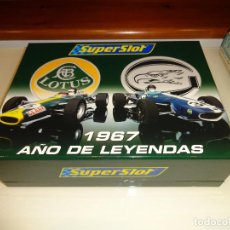 Slot Cars: SUPERSLOT. SET LOTUS Y EAGLE. REF. H2923A. Lote 106667539