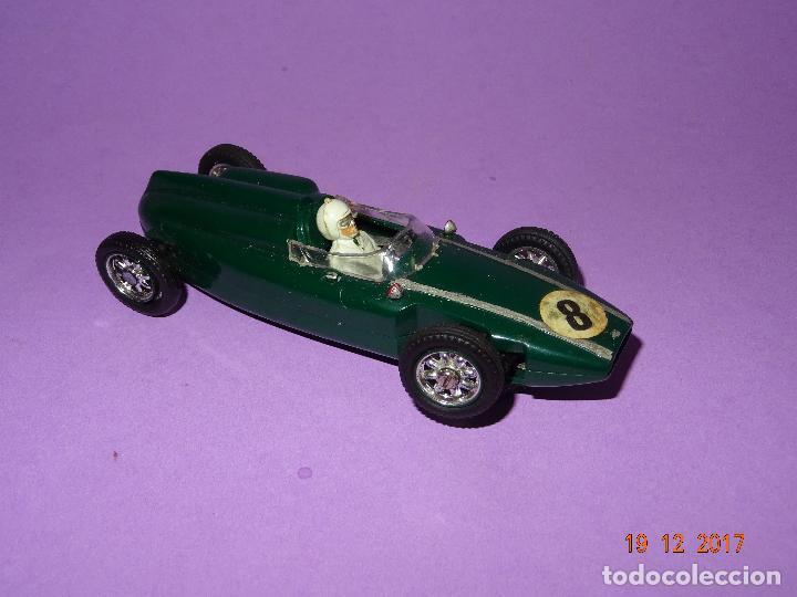 Slot Cars: Caja Circuito MOTOR RACING de AIRFIX con COOPER y FERRARI Escala 1/32 Igual a Scalextric - Año 1960s - Foto 12 - 106960487