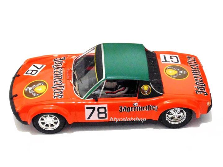 KOOB OSC 01610US SRC PORSCHE 914//6 #78 JAGERMEISTER NURBURGRING 1972 SCHIMPF