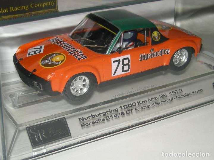 PORSCHE 914/6GT JAGERMEIFTER SRC/SCALEXTRIC NUEVO (Juguetes - Slot Cars - Magic Cars y Otros)