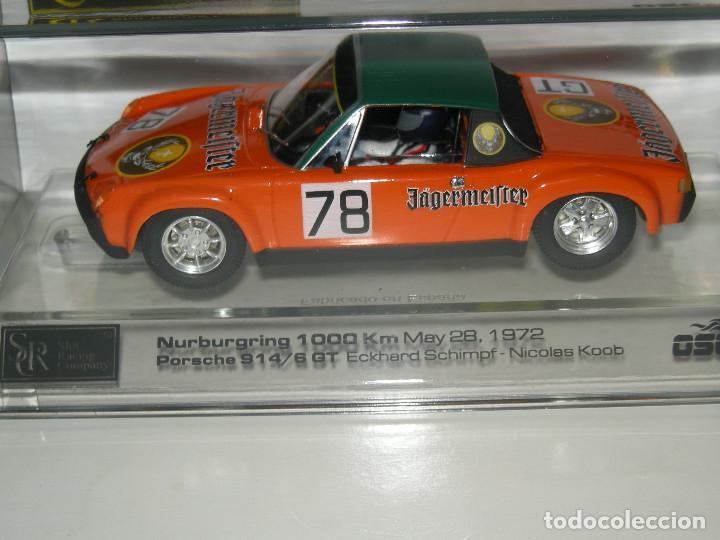 Slot Cars: PORSCHE 914/6GT JAGERMEIFTER SRC/SCALEXTRIC NUEVO - Foto 2 - 107808207