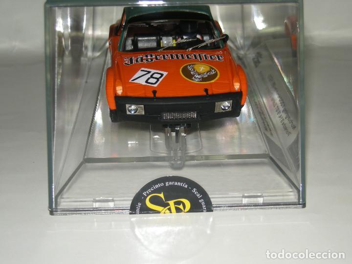 Slot Cars: PORSCHE 914/6GT JAGERMEIFTER SRC/SCALEXTRIC NUEVO - Foto 3 - 107808207