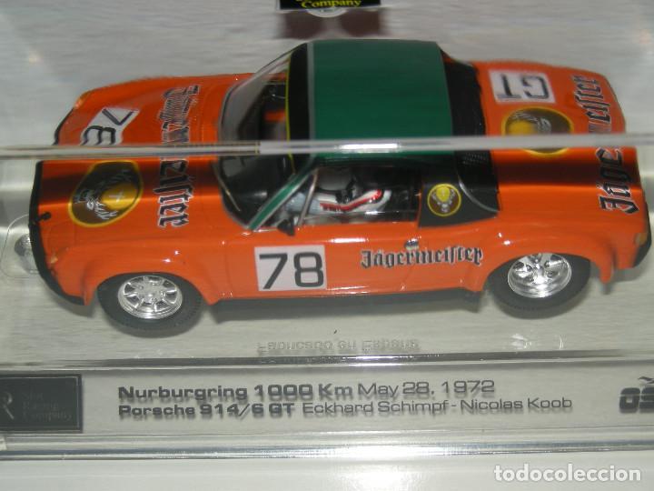 Slot Cars: PORSCHE 914/6GT JAGERMEIFTER SRC/SCALEXTRIC NUEVO - Foto 5 - 107808207