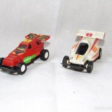 Slot Cars: BUGUIES SIN IDENTIFICAR TIPO SCALEXTRIC NO VEO MARCA NO CONOZCO. VER FOTOS. Lote 108023059