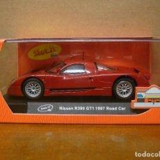 Slot Cars: SLOT IT NISSAN R390 GT1 1997 ROAD CAR REF SICA04A NUEVO CON SU CAJA ORIGINAL. Lote 108799763