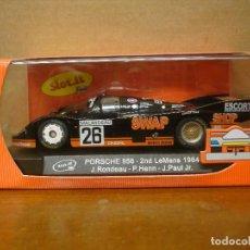 Slot Cars: SLOT IT PORSCHE 956C LE MANS 1984 REF SICA02F NUEVO CON SU CAJA ORIGINAL. Lote 108884819