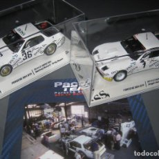 Slot Cars: PACK TEAM PORSCHE 924 GTP BOSS Nº1 Y 36 DE LAS 24H. DE LE MANS 1981 DE FALCON SLOT CARS. Lote 151534817