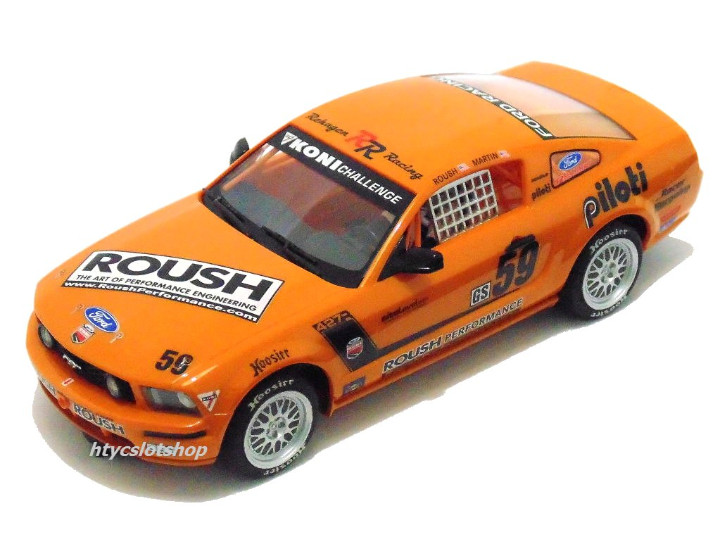 Slot Cars: SUPERSLOT MUSTANG RS500C #59 REHAGEN RACING ROUSH / MARTIN SCALEXTRIC UK H2888 - Foto 2 - 55075644