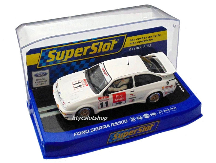 Slot Cars: SUPERSLOT FORD SIERRA RS500 #11 BRANDS HATCH BTCC 1990 JOBB GRAVETT CREDIT SCALEXTRIC H3781 - Foto 7 - 82867032