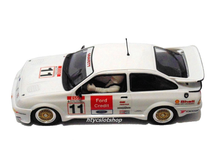 Slot Cars: SUPERSLOT FORD SIERRA RS500 #11 BRANDS HATCH BTCC 1990 JOBB GRAVETT CREDIT SCALEXTRIC H3781 - Foto 3 - 82867032