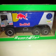 AVANT SLOT. Man Truck 6x6 Dakar 2006. Red Bull. Ref. 50408