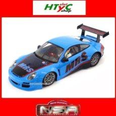 Slot Cars: NSR PORSCHE 997 GT3 MRS MOLITOR RACING SYSTEM SIEDLER / ENGELHART 1176 AW. Lote 46147287