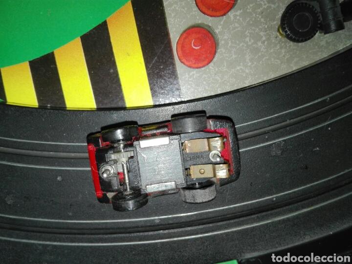Slot Cars: Maletín MicroMachines eléctrico. Rancing team. - Foto 9 - 109830862