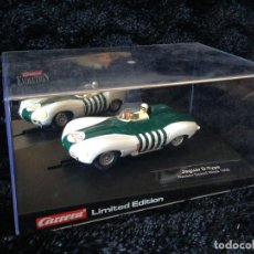 Slot Cars: JAGUARD D TYPE - NASSAU SPEED WEEK 1956 - 25486 - CARRERA EVOLUTION - EDICION LIMITADA. Lote 110228423