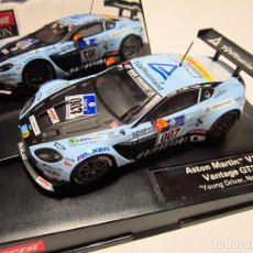 Slot Cars: ASTON MARTIN V12 VANTAGE GT3 NUEVO CARRERA EVOLUTION. Lote 110675791