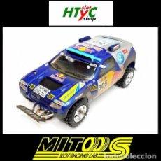 Slot Cars: CARTRIX MITOOS SUPER PRO VOLKSWAGEN TOUAREG #305 BAJA PORTALEGRE 2005 SAINZ M805. Lote 111092111