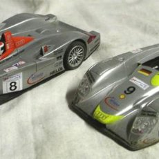 Slot Cars: 2 AUDI R8 LE MANS SCALEXTRIC. Lote 112497331