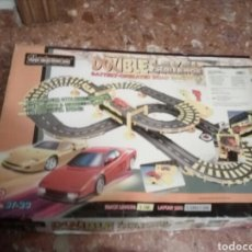 Slot Cars: SLOTRACE DOUBLE LEVEL CHALLENGE PISTA DE COCHES SIN USO. Lote 112615471