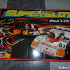 Slot Cars: CIRCUITO SUPERSLOT WILD-3-SIXTY COMPLETO. Lote 112912947