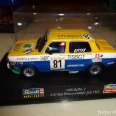 Slot Cars: REVELL. SIMCA 1000 RALLYE. SPA FRANCORCHAMPS 1975. Lote 113202543