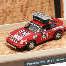 Slot Cars: PORSCHE 911 DAKAR 1981 (MASSLOT) EDICIÓN LIMITADA SÓLO 30 COCHES. Lote 113372063