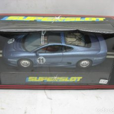 Slot Cars: ¿SCALEXTRIC? SUPERSLOT REF: C.312 - COCHE DE CARRERAS 11JAGUAR XJ220. Lote 113464027