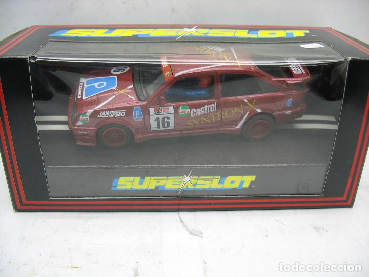 ¿SCALEXTRIC? SUPERSLOT REF: C.001 - COCHE DE CARRERAS 16 FORD RS COSWORTH SYNTRON CASTROL (Juguetes - Slot Cars - Magic Cars y Otros)
