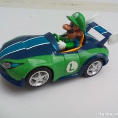 Slot Cars: COCHE PARA CIRCUITO DE CARRERA GO MARIO KART , LUIGI. 1:43 SLOT CAR. Lote 113675395