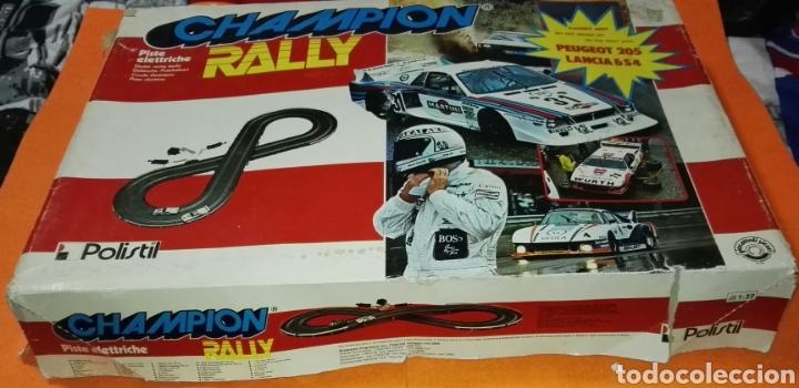 Slot Cars: Circuito champion rally con coches polistil . Tipo Scalextric - Foto 3 - 114448559