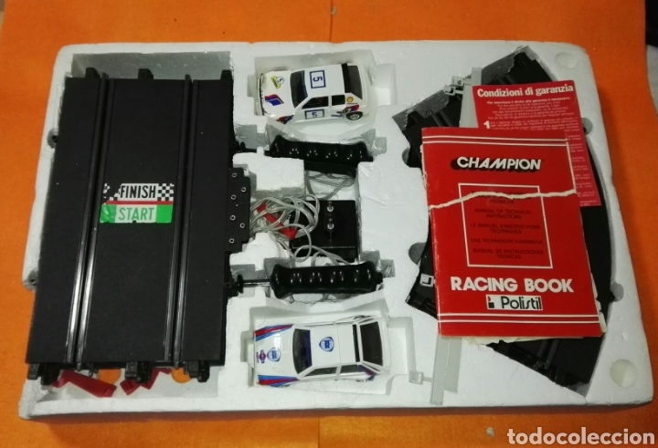 Slot Cars: Circuito champion rally con coches polistil . Tipo Scalextric - Foto 4 - 114448559