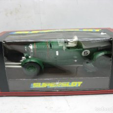 Slot Cars: ¿SCALEXTRIC? SUPERSLOT REF: C.039 - COCHE DE ÉPOCA BENTLEY. Lote 114466415