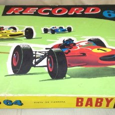Slot Cars: PISTA CARRERAS RECORD 64 JOUEF.. Lote 114546339