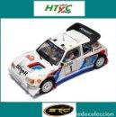 Slot Cars: SRC OSC PEUGEOT 205 T16 EVO2 #1 SALONEN / HARJANNE 2º RALLYE MONTE CARLO 1986 03701. Lote 158570924