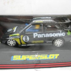 Slot Cars: ¿SCALEXTRIC? SUPERSLOT REF: C.336 - COCHE DE CARRERAS ESCORT PANASONIC COSWORTH. Lote 114977123